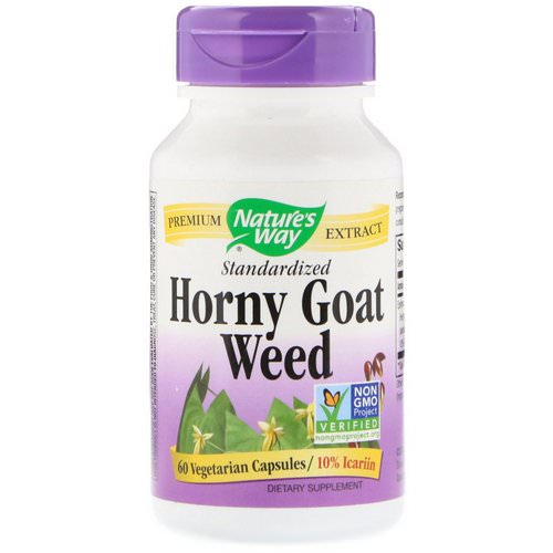 Nature's Way, Horny Goat Weed, Standardized, 60 Vegetarian Capsules Review