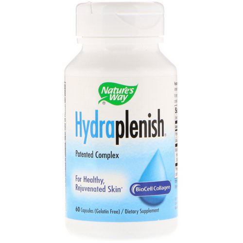 Nature's Way, Hydraplenish, 60 Capsules Review