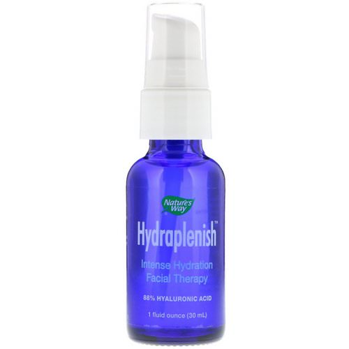 Nature's Way, Hydraplenish, Sodium Hyaluronic Serum, Ultra Potency, 1 fl oz (30 ml) Review