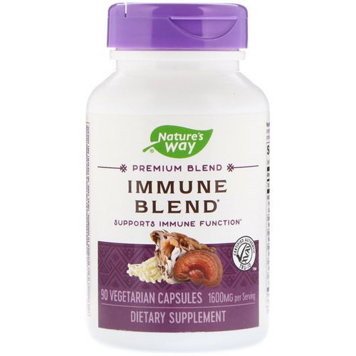 Nature's Way, Immune Blend, 1600 mg, 90 Vegetarian Capsules Review