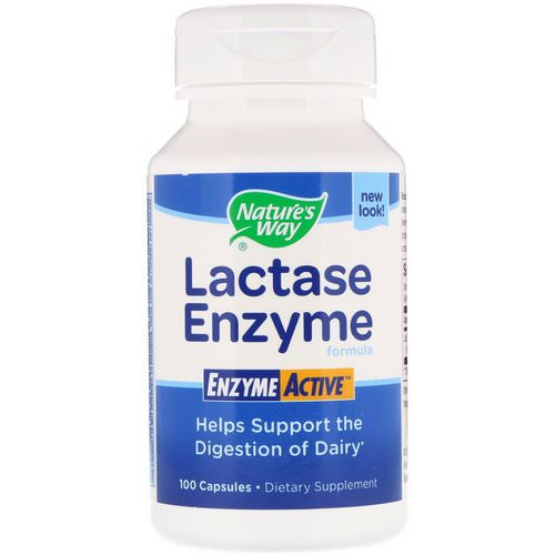Nature's Way, Lactase Enzyme Formula, 100 Capsules Review
