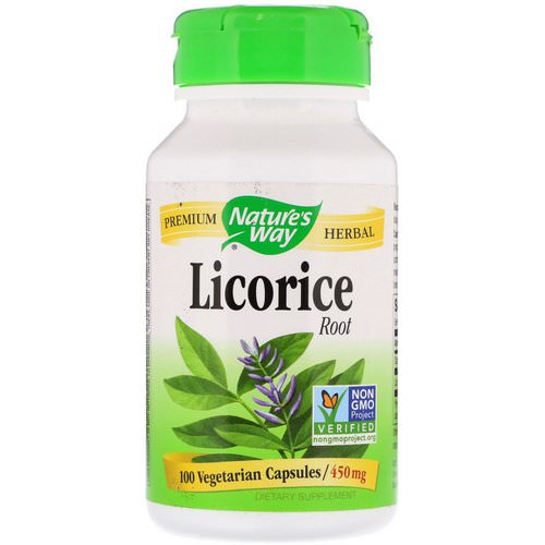 Nature's Way, Licorice Root, 450 mg, 100 Vegetarian Capsules Review