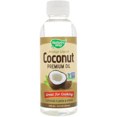 Nature's Way, Liquid Coconut Premium Oil, 10 fl oz (300 ml) Review