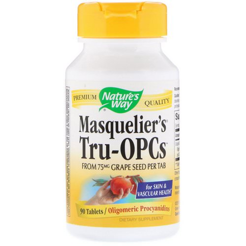 Nature's Way, Masquelier's Tru-OPCs, 90 Tablets Review