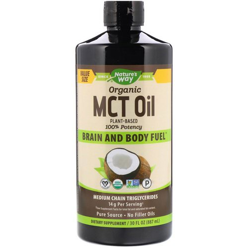 Nature's Way, Organic MCT Oil, 30 fl oz (887 ml) Review