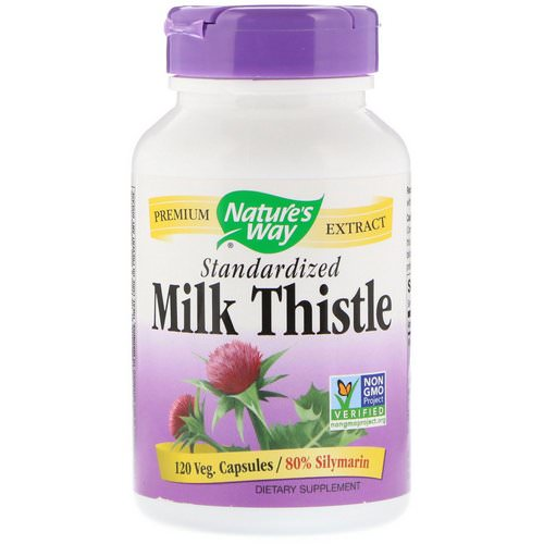 Nature's Way, Milk Thistle, Standardized, 120 Veg. Capsules Review