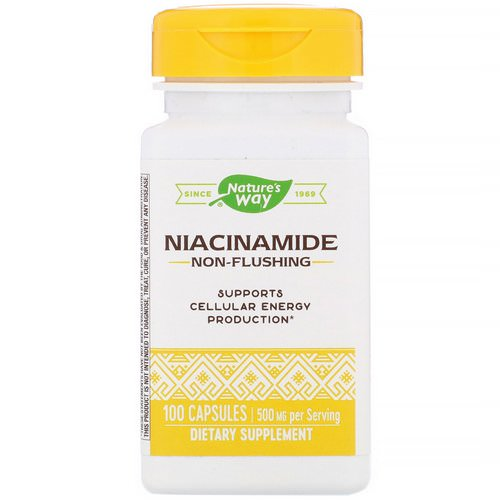 Nature's Way, Niacinamide, 500 mg, 100 Capsules Review