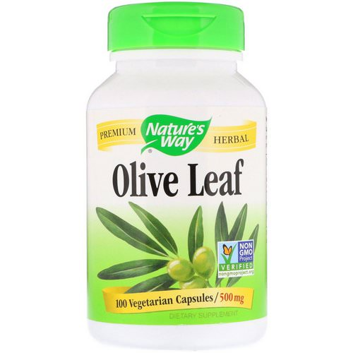 Nature's Way, Olive Leaf, 500 mg, 100 Vegetarian Capsules Review