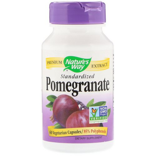 Nature's Way, Pomegranate, Standardized, 60 Vegetarian Capsules Review
