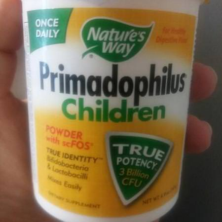 Nature's Way, Primadophilus, Children, 4.9 oz (141 g) Review
