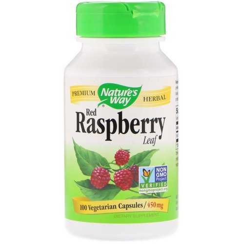Nature's Way, Red Raspberry Leaf, 450 mg, 100 Vegetarian Capsules Review