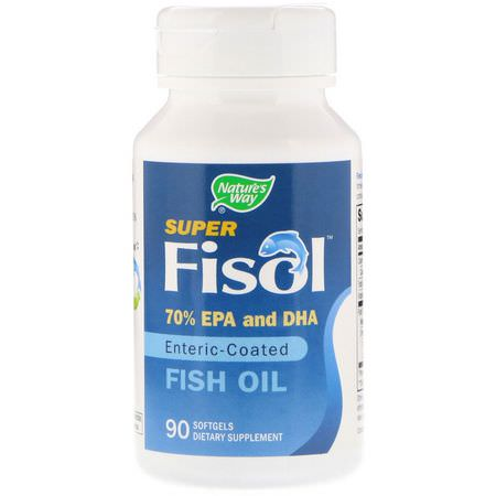 Nature's Way, Omega-3 Fish Oil