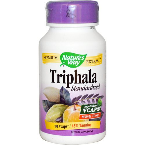 Nature's Way, Triphala, Standardized, 90 Veggie Caps Review