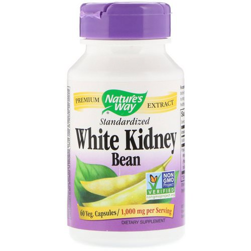 Nature's Way, White Kidney Bean Standardized, 60 Veg. Capsules Review