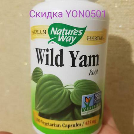 Nature's Way Herbs Homeopathy Wild Yam