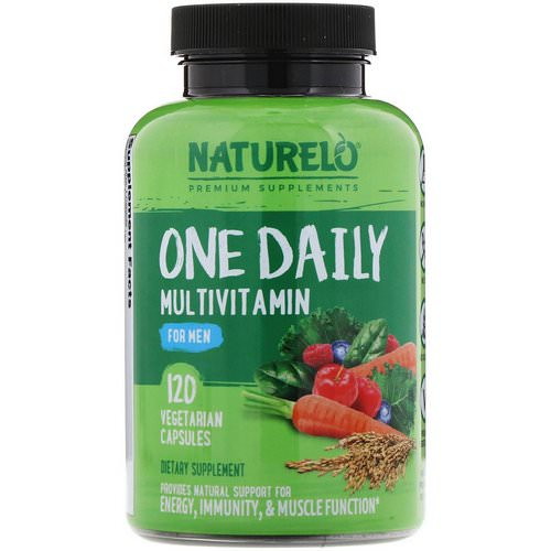 NATURELO, One Daily Multivitamin for Men, 120 Vegetarian Capsules Review