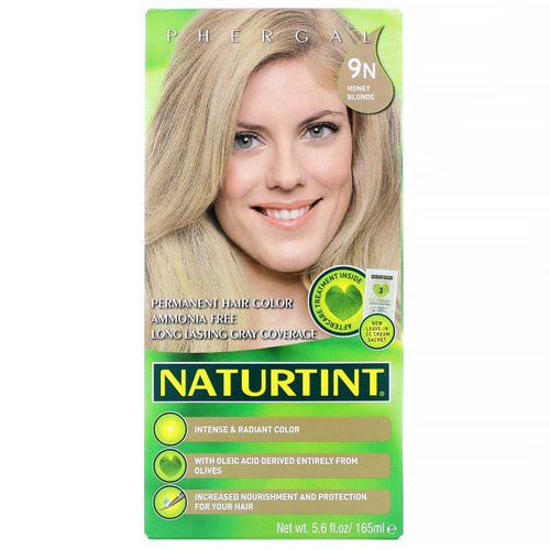 Naturtint, Permanent Hair Color, 9N Honey Blonde, 5.6 fl oz (165 ml) Review