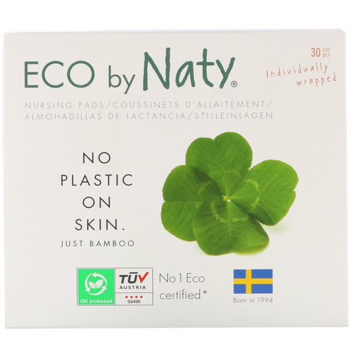 Naty, Nursing Pads, 30 Individually Wrapped Pads Review