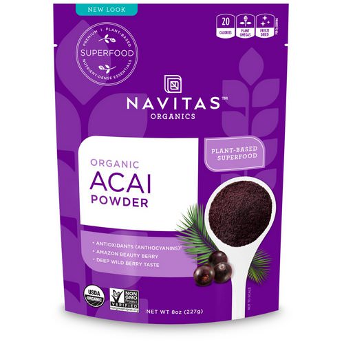 Navitas Organics, Organic Acai Powder, 8 oz (227 g) Review