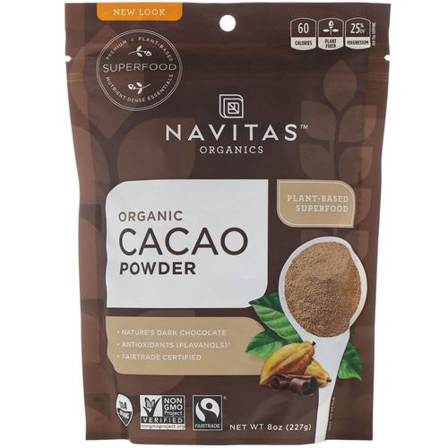 Navitas Organics, Organic Cacao Powder, 8 oz (227 g) Review