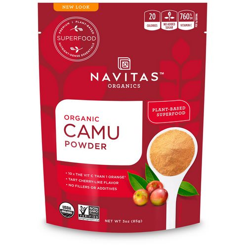 Navitas Organics, Organic Camu Powder, 3 oz (85 g) Review