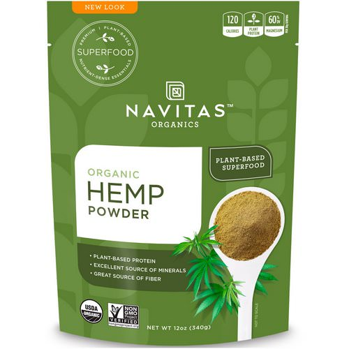 Navitas Organics, Organic Hemp Powder, 12 oz (340 g) Review