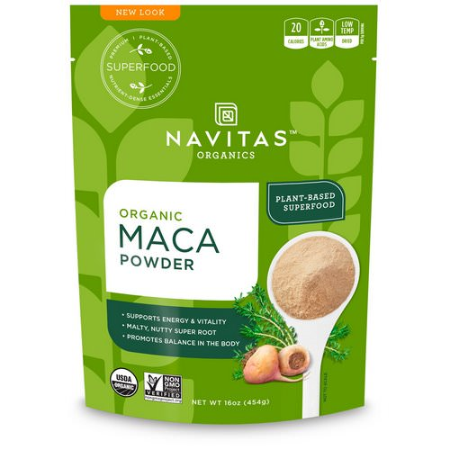 Navitas Organics, Organic Maca Powder, 16 oz (454 g) Review
