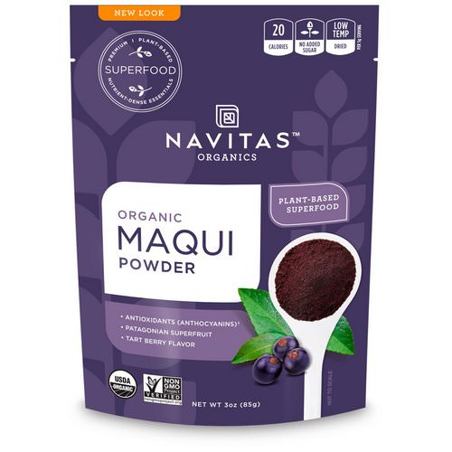 Navitas Organics, Organic Maqui Powder, Tart Berry, 3 oz (85 g) Review