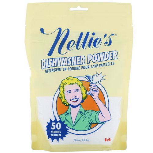 Nellie's, Dishwasher Powder, 1.6 lbs (726 g) Review