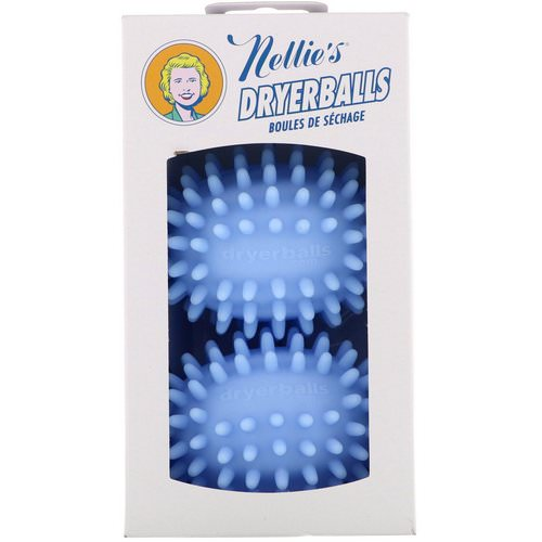Nellie's, Dryerballs, Blue, 2 Pack Review