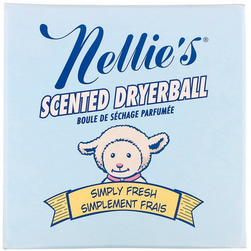 Nellie's, Scented Dryerball, Simply Fresh, 1 Dryerball Review