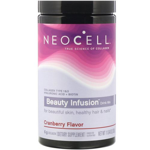Neocell, Beauty Infusion Drink Mix, Cranberry, 11.64 oz (330 g) Review