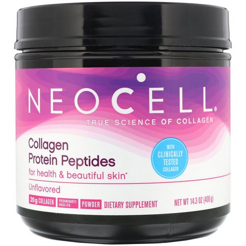 Neocell, Collagen Protein Peptides, Unflavored, 14.3 oz (406 g) Review