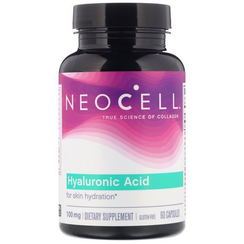 Neocell, Hyaluronic Acid, 100 mg, 60 Capsules Review