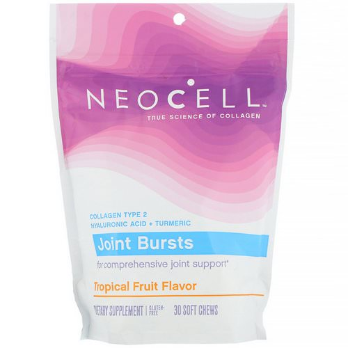 Neocell, Joint Bursts, Tropical Fruit, 30 Soft Chews Review