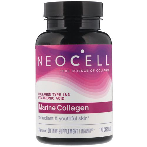 Neocell, Marine Collagen, 120 Capsules Review