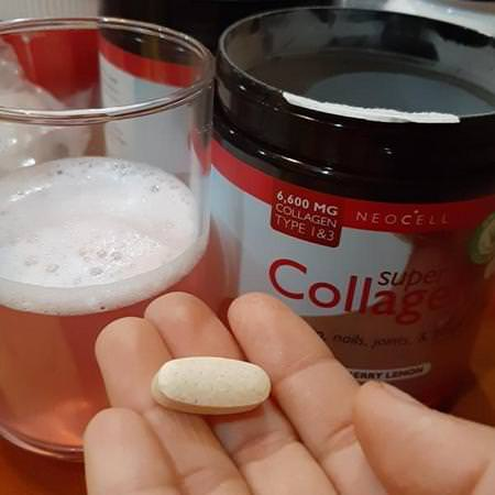 Neocell, Super Collagen, Type 1 & 3, Berry Lemon, 6,000 mg, 6.7 oz (190 g) Review