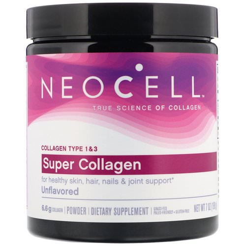 Neocell, Super Collagen, Unflavored, 7 oz (198 g) Review