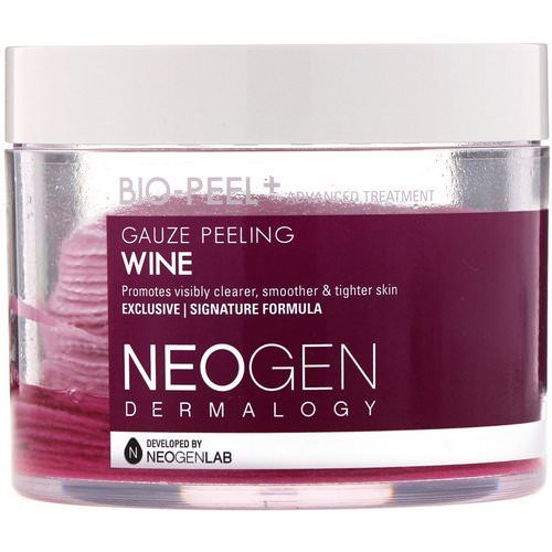 Neogen, Bio-Peel, Gauze Peeling, Wine, 30 Count, 6.76 fl oz (200 ml) Review