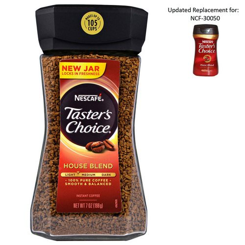 Nescafe, Taster's Choice, Instant Coffee, House Blend, 7 oz (198 g) Review
