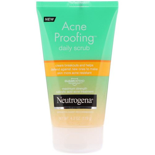 Neutrogena, Acne Proofing Daily Scrub, 4.2 oz (119 g) Review