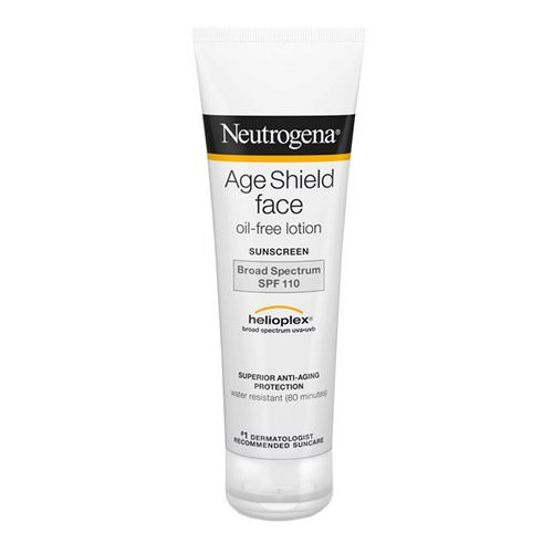 Neutrogena, Age Shield Face, Oil-Free Sunscreen, SPF 110, 3 fl oz (88 ml) Review
