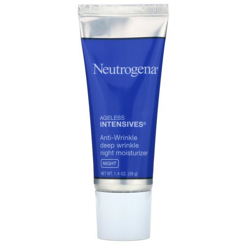 Neutrogena, Anti-Wrinkle Deep Wrinkle Night Moisturizer, Night, 1.4 oz (39 g) Review