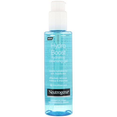 Neutrogena, Hydro Boost, Hydrating Cleansing Gel, 6.0 oz (170 g) Review