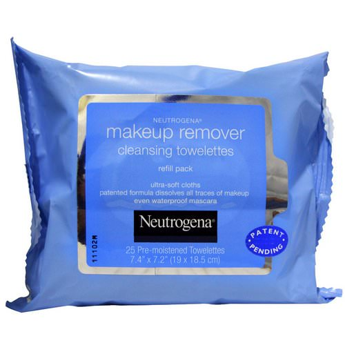 Neutrogena, Makeup Remover Cleansing Towelettes, 25 Pre-Moistened Towelettes Review