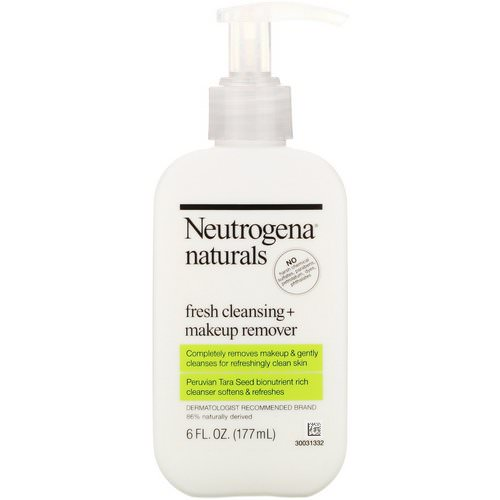 Neutrogena, Neutrogena, Naturals, Fresh Cleansing + Makeup Remover, 6 fl oz (177 ml) Review