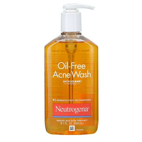 Neutrogena, Oil-Free Acne Wash, 9.1 fl oz (269 ml) Review