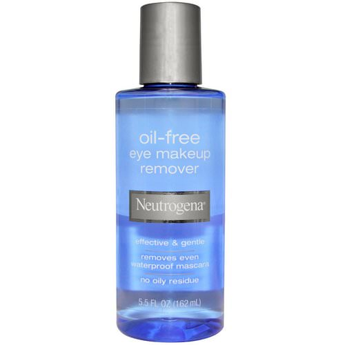 Neutrogena, Oil-Free Eye Makeup Remover, 5.5 fl oz (162 ml) Review