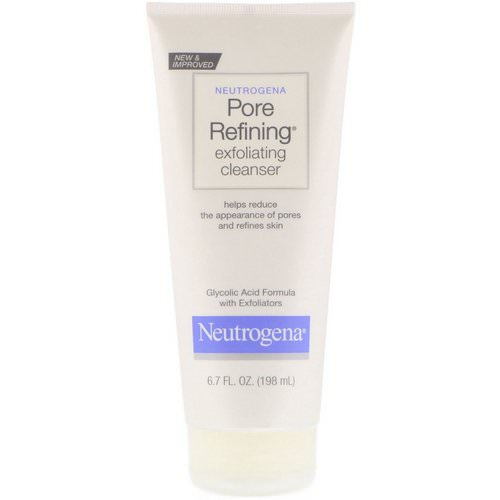 Neutrogena, Pore Refining, Exfoliating Cleanser, 6.7 fl oz (198 ml) Review