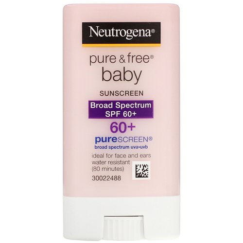 Neutrogena, Pure & Free Baby Sunscreen, SPF 60+, 0.47 oz (13 g) Review
